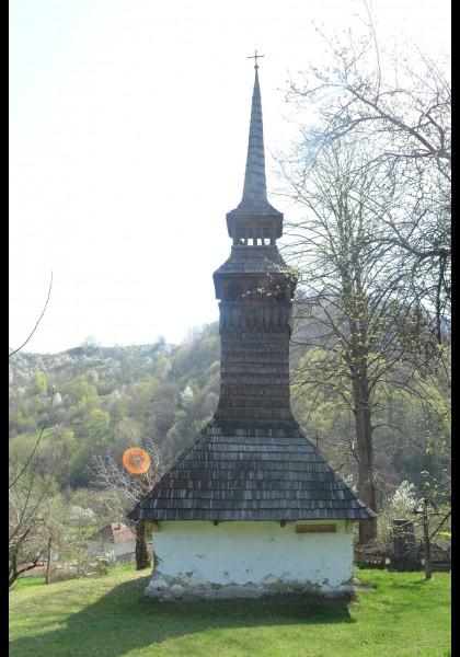 Die Holzkirche von Luncșoara