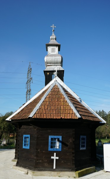 Die Holzkirche aus Cristești
