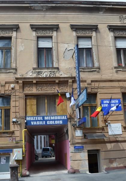 """The """"Vasile Goldiș"""" Memorial Museum"""
