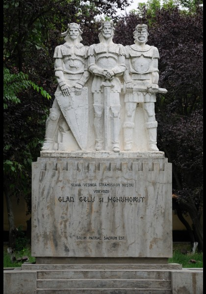 "Das Monument ""Gelu, Glad and Menumorut"""