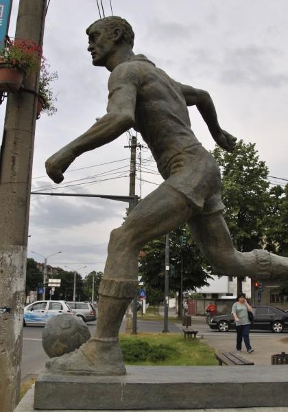 Statuia Fotbalistului