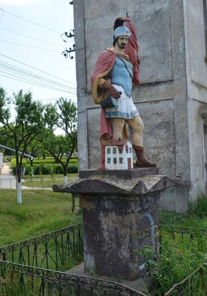 Die Heiliger Florian Statue