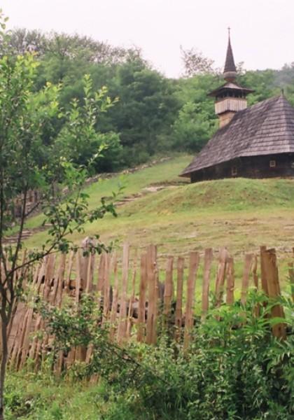 Die Holzkirche aus Troaș